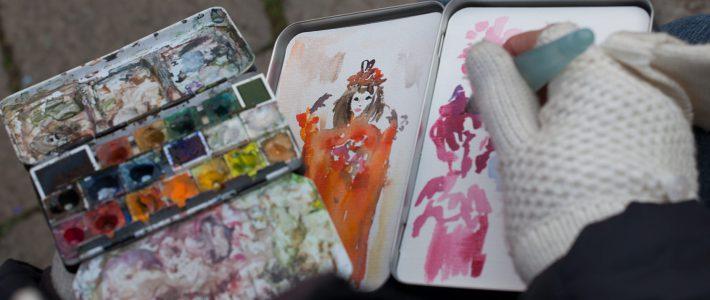 Zeichnen lernen mit Schön und Nett